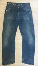 Levi's Original Engineered Twist Hem Jeans, Y2K, Blue Denim, 31/32, VGC