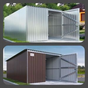 ➥Langlebige Einzelgarage✔ Materialcontainer Lagercontainer Container Blechgarage
