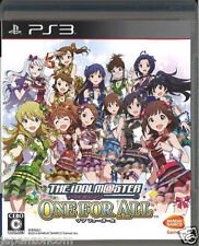 Used PS3  Idol Master One for All  SONY PLAYSTATION 3 JAPAN JAPANESE IMPORT