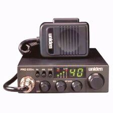 UNIDEN PRO520XL COMPACT 40 CHANNEL CB RADIO WITH RF GAIN, PA, ANL FILTER  Uniden