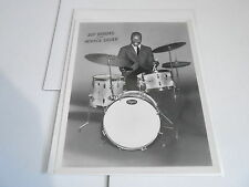 #939 VINTAGE 8x10 MUSICIAN PHOTO - ROGERS DRUMS - ROY BROOKS - HORACE SILVER
