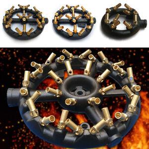 10//20//23//32 Tips Round Shape Jet Burner Natural Gas Jet Burner Wok Burner65 mm