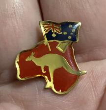 Vintage Australia Lapel Pin. Signed S A L.