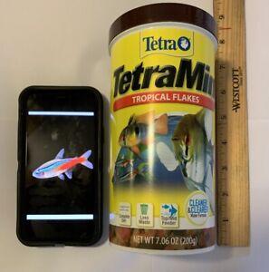 TETRA TetraMin FISH FLAKES *GIANT SIZE!! EXTRA LARGE 7.06 OZ! TROPICAL FISH FOOD