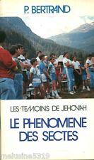 """Livre Religion """" Le Phénomène des Sectes Les Témoins de Jéhovah ( No 1228)  Book"""
