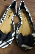 Atmosphere Women's Striped Ballet Flats