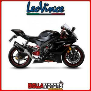 14227S SCARICO COMPLETO 4/2/1 LEOVINCE YAMAHA YZF-R6 2006-2019 FACTORY S CARBONI