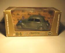 Brumm Italy 1:43 Scale Diecast 1937-39 508C Fiat Berlina 1100 Military r34 w box