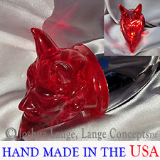 Harley Davidson custom turn signal tail lighting Devil lenses Red Gloss bullet