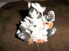 "Calico Kitten Figurine "" Mummy Mischief"""
