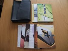 RENAULT MEGANE II OWNERS MANUAL HANDBOOK WALLET 2002-2006 PACK