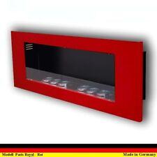 Gel y Etanol Chimenea Caminetti Fireplace Camino Cheminee Paris Royal Rojo