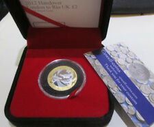 UK 2012 OLYMPIC HANDOVER TO RIO ROYAL MINT £2 SILVER PROOF COIN - LIMITED