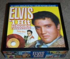 Elvis #1 Hit Singles Collection 45 Box with Poster No Records or Sleeves NMint