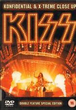 Kiss(DVD)Konfidental & X-Treme Close Up-VG