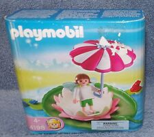 PLAYMOBIL FAIRY LILY PAD FIGURE SET #4198