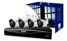 Kguard 8 Channel HD 1 TB Hybrid CCTV Kit DVR e l'con 4 x 720P FOTOCAMERE