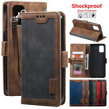 For Samsung A01/A11/A51/A71/Note 20/S21 Magnetic Leather Folio Wallet Case Cover