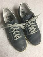 Mephisto Runoff Men's Slate Blue Leather Lace Up Casual Comfort Shoe Size Sz 8 M