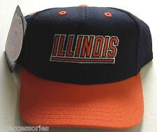 NCAA Illinois Fighting Illini Puma Kids Snapback Cap Hat NEW!