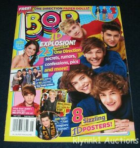 BOP Magazine May 2012 One Direction Big Time Rush Harry Justin Ross Selena Cody