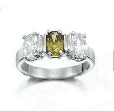 Diamond White Gold Simulated Fine Jewellery