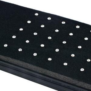 10 x Diamante BONE Nose Stud - Rhinestone Straight Bar Diamond Crystal Fashion