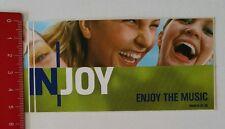 Aufkleber/Sticker: N-Joy Enjoy the Music (130217143)