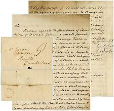 More details for 1827 letter hampsthwaite signed bilton josephus wilson harrowgate mileage 200