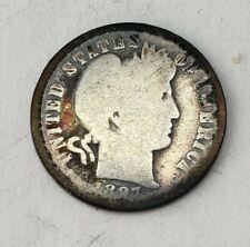 New listing Us 1897 O Barber Dime.Key Date! *Huge Coin Estate!*