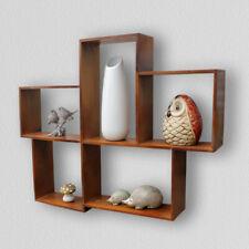Wall Mount Display Shelf 5 Compartment Storage Nursery Children Unit Shelving