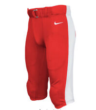 Nike Mach Speed Football Pants: Red Men's Xl with Removable Knee Pads