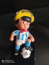 Porte-clés Mascotte COUPE DU MONDE DE FOOTBALL ARGENTINA 78 Keychain vintage
