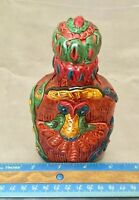 Vintage Rubber Comedy Drunk Bottle Cover. AA3#