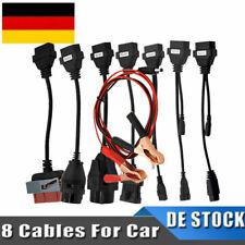 PKW KFZ LKW Kabelset OBD2 Diagnoseadapter Auto CDP+ Pro DS150E - 8 teilig Kabel