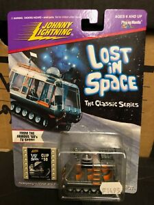 Boxed LOST IN SPACE Space Chariot Johnny Lightning Diecast Model 1996 Classic TV