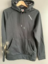 Russell mens hoodie sweat shirt size S 34-36 Black with black camo in hood