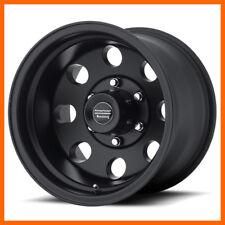 4 17x9 Amer Racing Baja Ar172 568 Lug New Black Wheels Free Caps Amp Lugs