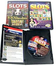 Pc Dvd - Wms Slots - Jade Monkey - Igt - 100 Pandas - Wolf Run 2 Lot - New Other