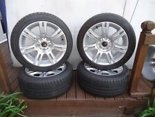 17 x 4 Alloys Wheels and tyres Will Fit Renault trafic/vivaro VW T5-T6