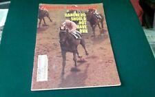 Canonero thoroughbred horse racing 1971 Sports Illustrated magazine