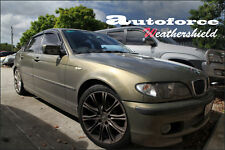 HIC BMW 3 SERIES E46 1998-2006 4 DOOR WEATHERSHIELDS WEATHER SHIELD WINDOW VISOR