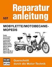 Mobylette Motobecane Mopeds Reparaturanleitung Reparatur-Handbuch Reparaturbuch