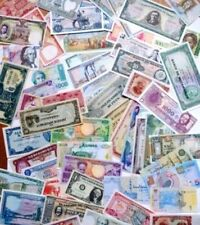 Monde entier -  lot de 50 billets de banque différents pour collectionneurs UNC