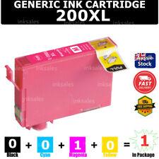 1x Generic 200xl 200 XL T2001 Ink Cartridge Magenta for Epson WF 2510 2520 2530
