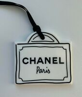CHANEL VIP GIFT charm plastic bag NEW LE
