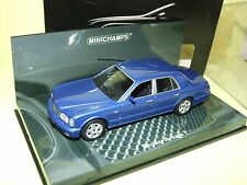 BENTLEY ARNAGE T Bleu  MINICHAMPS 1:43