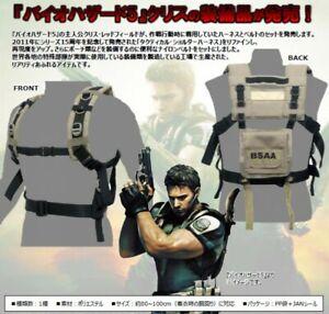 Biohazard BSAA Chris Harness Belet Set Cosplay Resident Evil 5 polyester