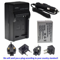 Battery + Wall charger for CANON NB-10L Powershot G16 SX50 SX60 HS ,G1 X Mark 1