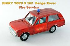 Dinky Toys # 195 Range Rover Fire Service / Fire Chief's Car 1971 - 78